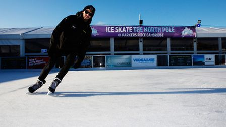 Get your skates on this winter and enjoy one of the UK's most stylish open-air ice rinks nestled amo