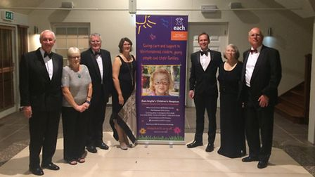 Guests raised £7,500 at the fundraiser in Barrington.