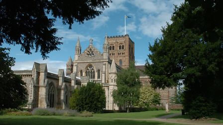 St Albans Cathedral - views of it should not be blocked