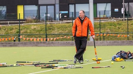Andy has dedicated himself to hockey since retiring from the Met Police