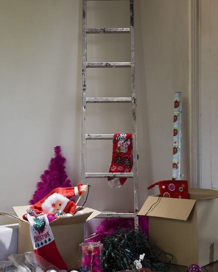 Sort out the Christmas clutter before the big day