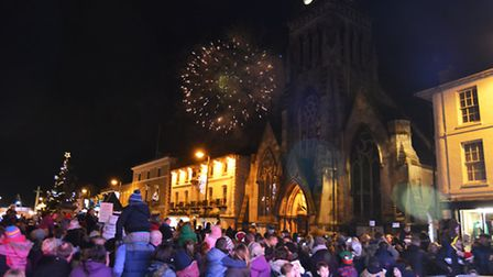 This year's Christmas lights switch-on in St Ives