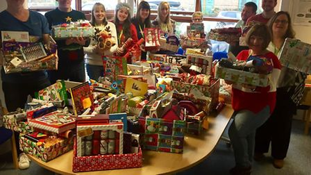 Carers in Huntingdonshire recieved hampers from Carers Trust Cambridgeshire