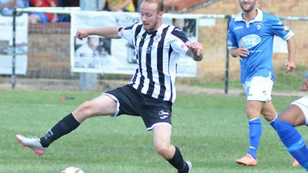 Josh Dawkin wrapped up St Ives Town's thumping success.