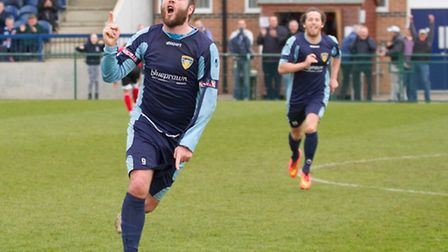 Lee Clarke is happy to be leading St Neots Town. Picture: CLAIRE HOWES