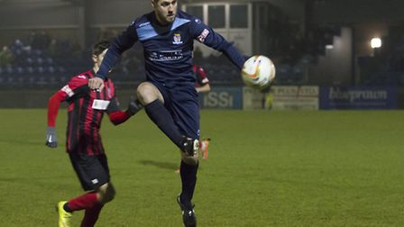 Dan Gleeson is the other half of St Neots Town's interim management duo, along with Lee Clarke. Pict