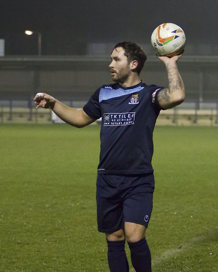 Jonny Hall has left St Neots Town. Picture: CLAIRE HOWES
