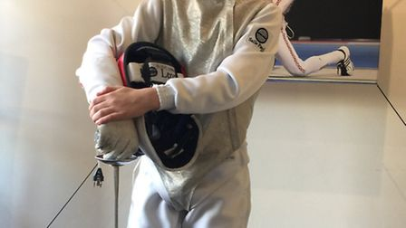 Alexander Culkin has been selected for England's U13 foil fencing team for 2017