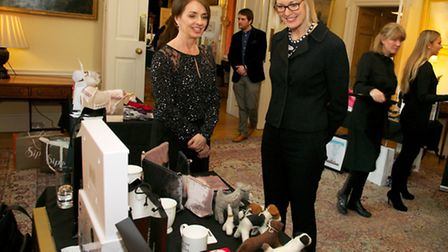 Donna Nichol (left) owner of Chloe James Lifestyle, at the event.