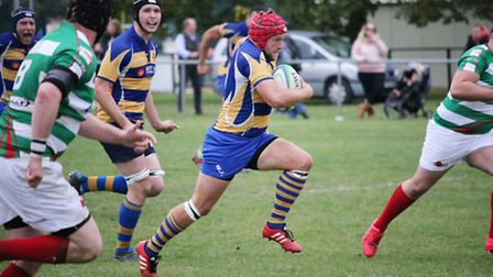 Despite Jeremy Walmsley being to the fore, St Albans just missed out on a big win against Hemel Hemp