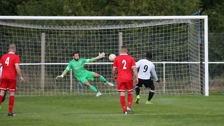 Carl Osbourne was on-form as Colney Heath picked up another win. Picture: JIM WHITTAMORE