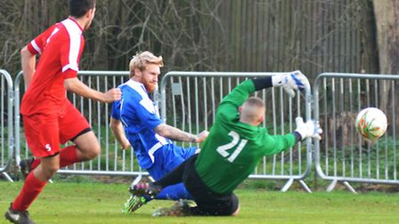 Craig Smith was among the goalscorers as Eynesbury Rovers won their final match of 2016.