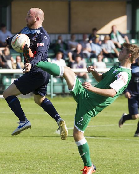 Rogan McGeorge has left St Neots Town. Picture: CLAIRE HOWES