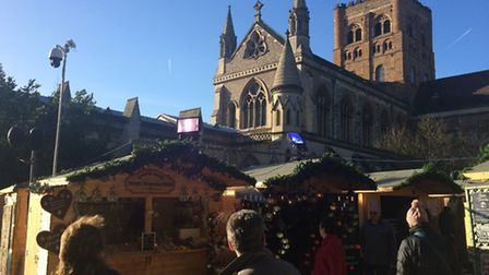 St Albans Christmas Market is one of Claire's local highlights