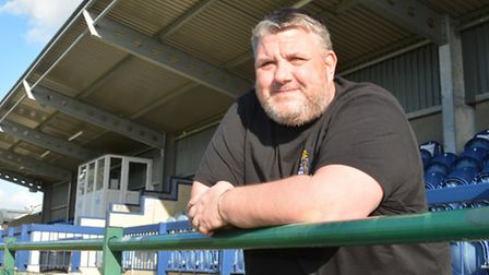 St Neots Town manager Andy Davies.