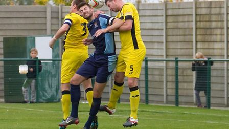 Tom Ward could make a surprise return to the St Neots Town team. Picture: CLAIRE HOWES