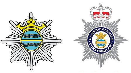 Cambridgeshire 's police and fire services are exploring closer working opportunities.