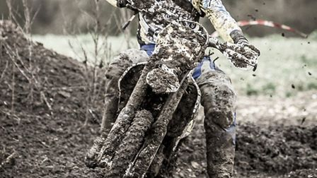 Dan Smith during the final round of the TBEC Enduro Championship.
