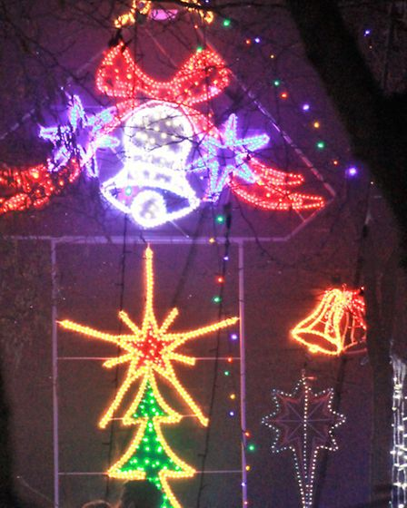 The Baxter's Christmas lights swtich-on. Picture: Clive Porter