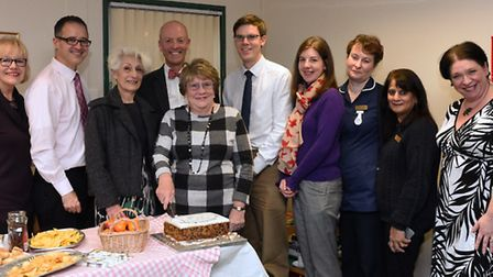 Judy Mayes, Dr Paolo Forgnoli, Flora Sherringham, Dr Irwin, Jean Matheson, Dr Kevin Brinkhurst, Dr R
