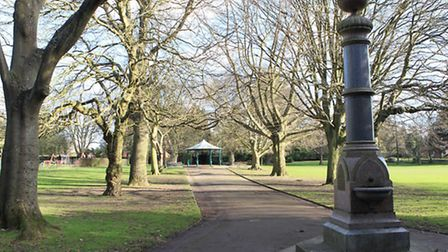The author loves to visit Clarence Park, especially in the autumn