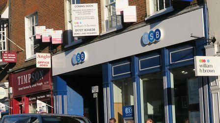 The TSB building on Chequer Street, St Albans