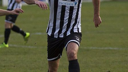 Danny Kelly was one of St Ives Town's goalscorers in their win at Basingstoke. Picture: LOUISE THOMP