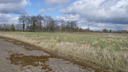 Proposed land for Little Paxton development
