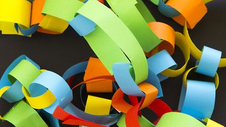 Paper chains are a timeless classic