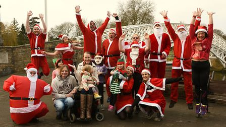 Godmanchester Running Club are preparing for their annual Santa Chase.