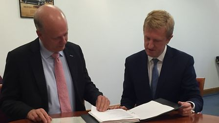Oliver Dowden and Chris Grayling