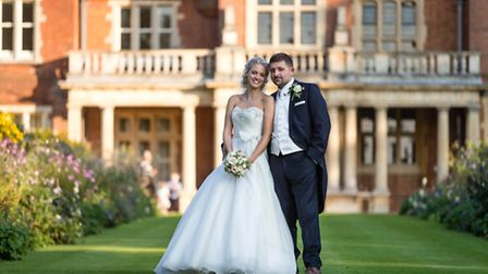 Sophie and Nick Burr are to feature in ITV show Extraordinary Weddings. Picture: Nick Bailey