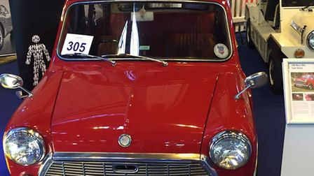 Margo the mini at the Classic Motor Show