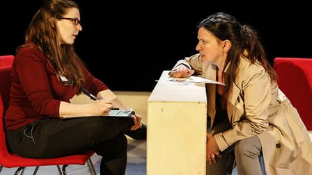 The production is part of a campaign to highlight homelessness in today's society.