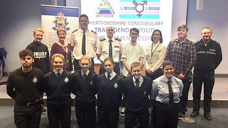 An engagement event was recently held at Herts Police headquarters as part of recognising Internatio