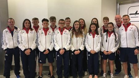 GB's Tokyo team which included St Albans' Amy Platten