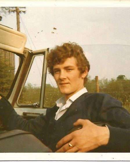Colin Foster (pictured) bought Eric Morecambe's Triumph Herald convertible in 1968