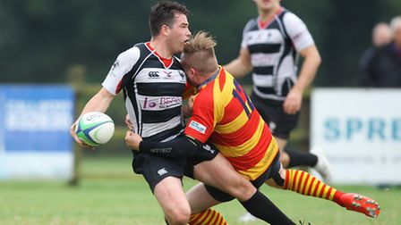 Connor McLean in action for Harpenden. Picture: KARYN HADDON
