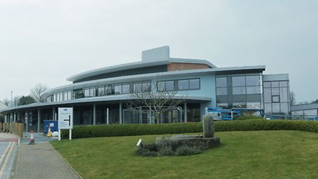 One of the new buildings at Rothamsted research