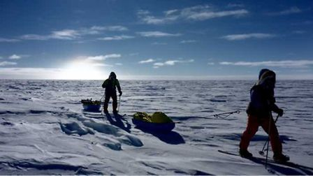 The South Pole expedition.