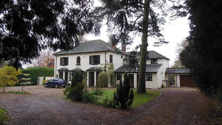 Gavin Sellar's family home, Coleswood House in East Common, Harpenden.