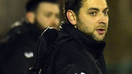 St Ives Town manager Ricky Marheineke was upbeat in defeat.