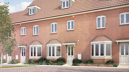 This recent development in Hatfield is also by Persimmon Homes