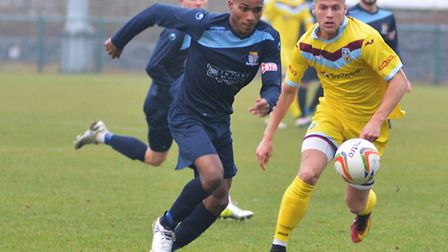 Jevani Brown scored and saw a penalty saved as St Neots were beaten by Hitchin.