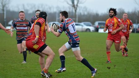 Nick Foster grabbed a try for OAs at Rosslyn Park. Picture: KEVIN LINES