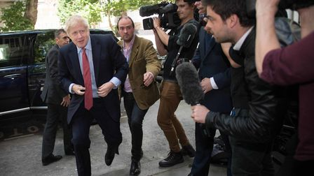 Boris Johnson, the favourite to be the next prime minister. Photograph: Stefan Rousseau/PA Wire