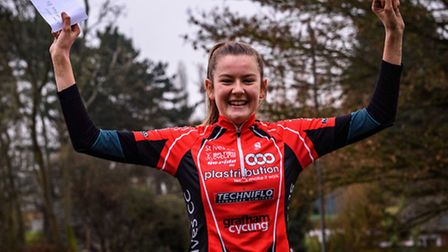Cecilia Hime has won the overall Junior Women crown in the Central Cyclocross League.