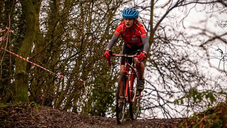 Beatrice Pauley on her way to race and overall glory in the Central Cyclocross League. Picture: KEIT