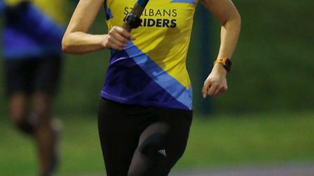 St Albans Striders attempted to break the men's and women's marathon world records. Picture: MATTHEW