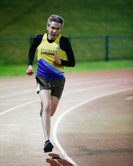 St Albans Striders attempted to break both the men's and women's marathon world records at their sta